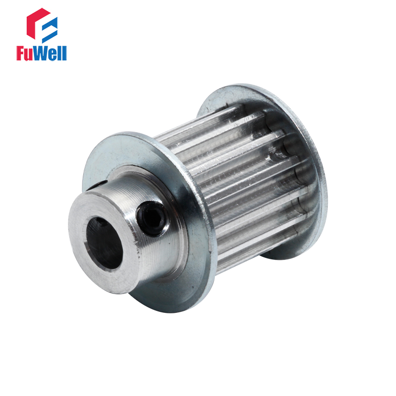 HTD5M 14T Timing Pulley 14Teeth Transmission Pulley 21mm Belt Width 6/6.35/7/8/10mm Bore Aluminum Alloy 5M Toothed Belt Pulley|Pulleys| |  - title=
