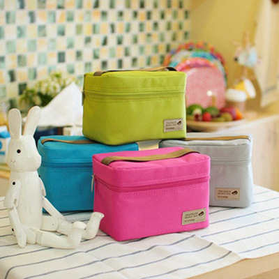 Practical Small Portable Ice Bags 4 Color Waterproof Cooler Bag Lunch Leisure Picnic Packet Bento Box Food Thermal Bag