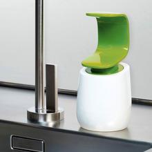 C-kształt jednoręczny dozownik piany mydła Nordic dozownik do mydła przenośna butelka mydła mydło podróżne dozownik do mydła do łazienki tanie tanio CN (pochodzenie) Suszarka do rąk części Soap Foam Dispenser