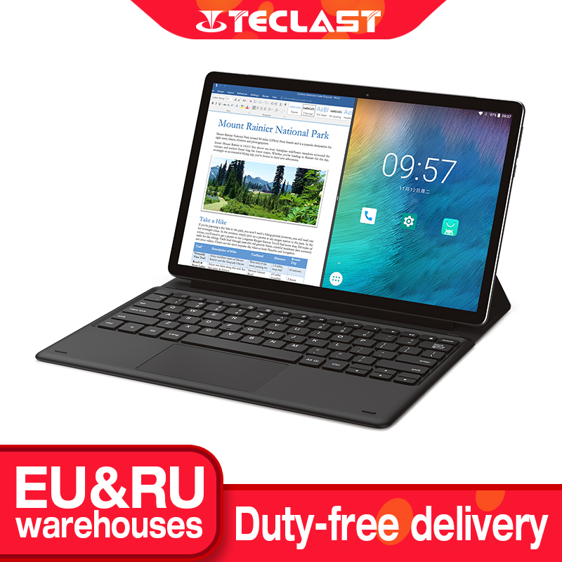 """Teclast M16 11.6"""" Android Tablet Helio X27 Deca Core 4GB RAM 128G ROM 4G Network Tablets PC 8.0MP Docking Type-C HDMI 7500mAh"""