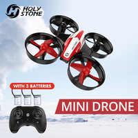 Święty kamień HS210 Mini RC zabawkowy Dron bezgłowy drony Mini RC quadrocoptera Quadcopter Dron jeden klucz ziemi Auto unoszące się helikopter