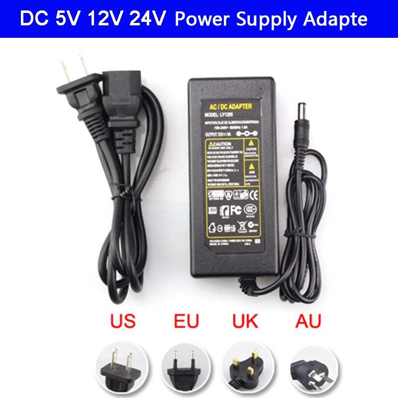 Светодиодный Мощность адаптер AC100-240V переменного тока в постоянный 5V 12V 24V Светодиодный светильник Мощность поставить 1A 2A 3A 5A 6A 8A 8.5A 10A светод...