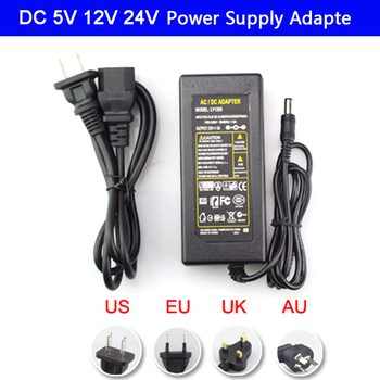 Led Power Adapter AC100-240V to DC 5V 12V 24V led Light power Supply 1A 2A 3A 5A 6A 8A 8.5A 10A LED Strip Transformer with plug 10piece lot ip67 12v 12 5a 150w ac100 240v input electronic waterproof led power supply led adapter 12v 150w free fedex