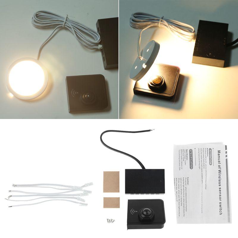 Non-Contact 12V-24V 120W PIR Infrared Motion Sensor Detection Automatic Light Switch For Corridor Cabinet Wardrobe LED Light