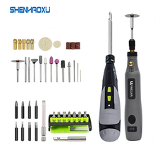 Cordless Electric Screwdriver Mini Grinder Power tools Set 3.6V Lithium Battery Usb Charging Multifuctional Accessories Home Diy