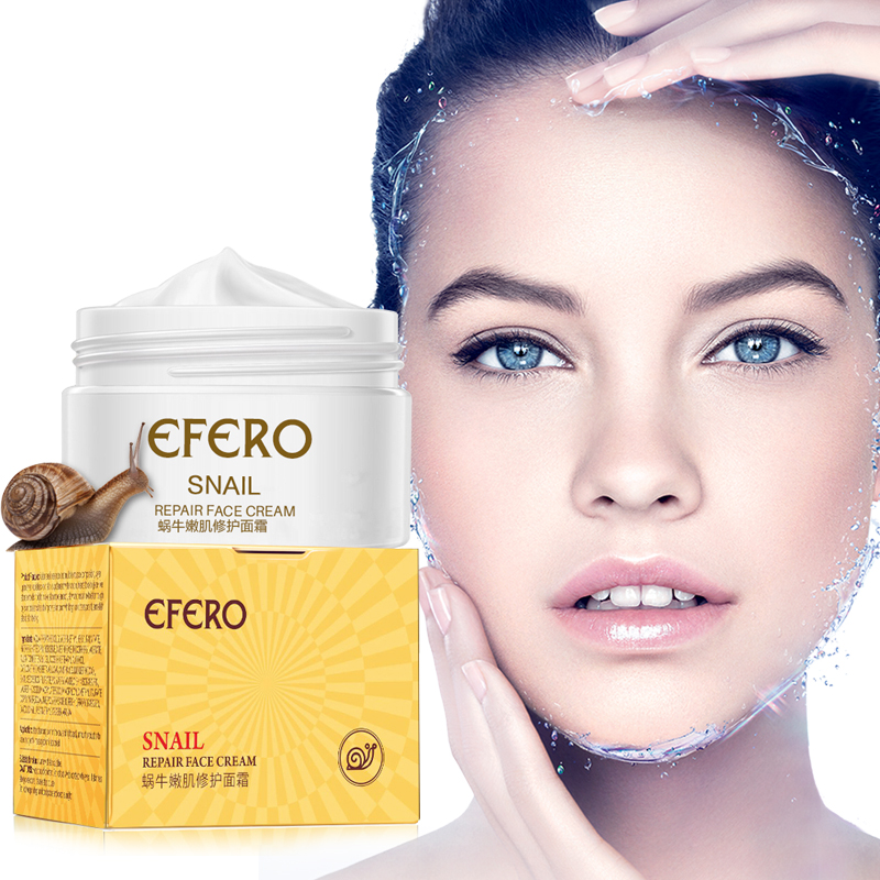 Snail Essence Face Cream Hyaluronic Acid Anti Wrinkle And Nourishing Facial Day Cream Anti-aging Moisturizer Repair Face Care