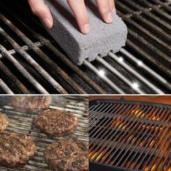 Maison main propre brique BBQ nettoyage pierre écologique Barbecue grattoir enlever les taches brosse BBQ supports taches graisse nettoyant
