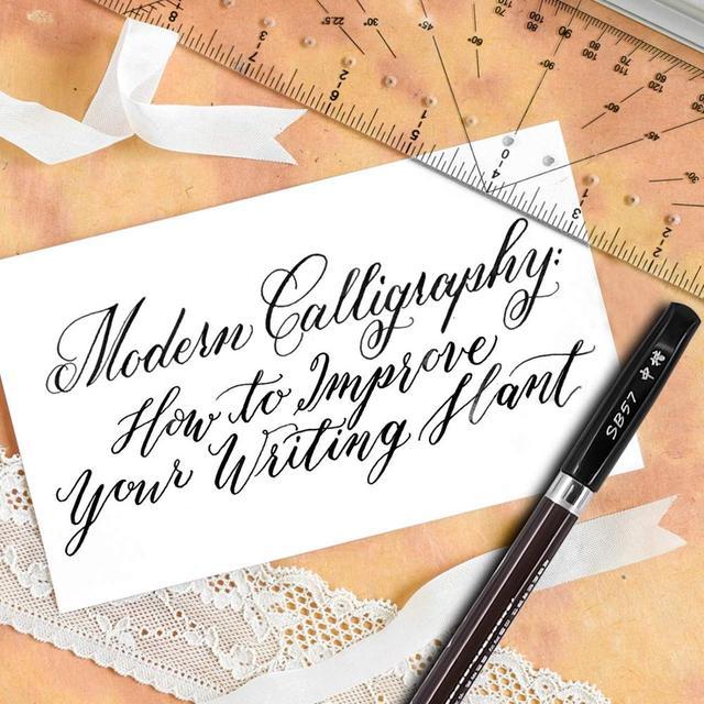 3pcs Calligraphy Pen Set Fine Liner tip Medium Brush Pens for Signature Drawing Hand Lettering School Album Art Supplies A6867 3