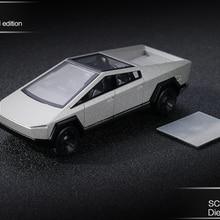 **In stock** Xcartoys 1:64 Tesla Cybertruck Truck 01 Silver Diecast Model Car