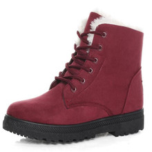 New women boots flat with cotton ankle warm and comfortable fashion non-slip wear-resistant design