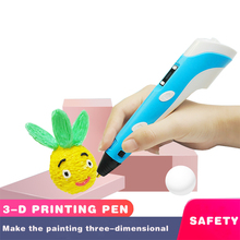 3D Printing Pen Magic DIY Pencil handle Plastic Filament For Kid Children Education Drawing Toys Birthday school supplies gifts