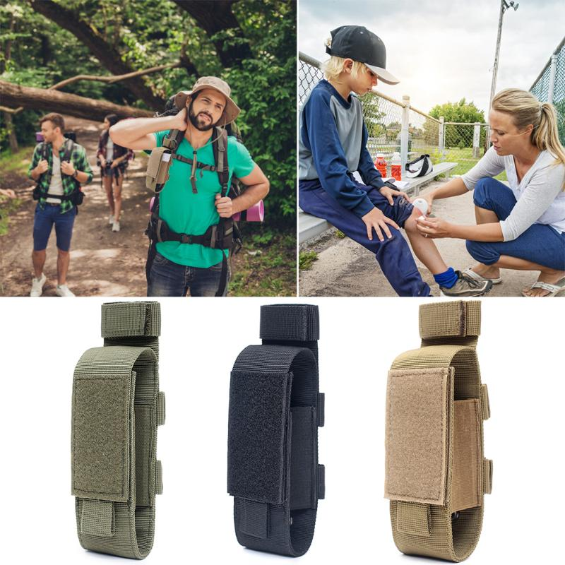 Adjustable Knife Belt Molle Pouch Practical Flashlight Holster Magazine Holster Cartridge Clip Tool Pouch Sheath Easy Carrying