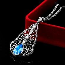 Серебряные подвески для женщин девушек цепочка на счастье очаровательный