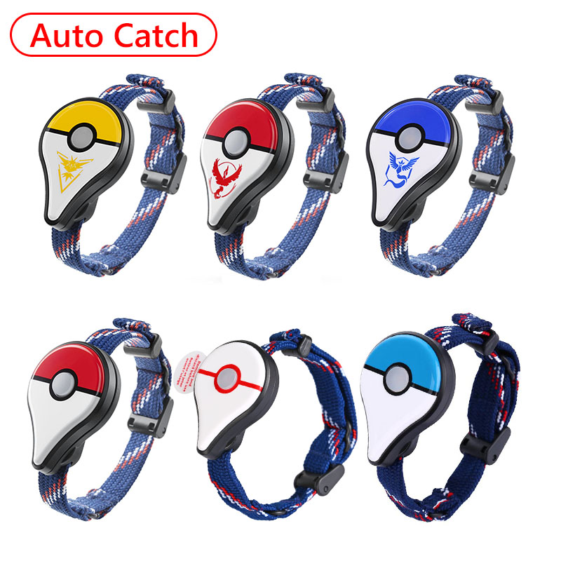 ALLOYSEED Auto Catch For Pokemon GO Plus Bluetooth Wristband Bracelet Interactive Figure Toys For Nintend Switch Pokemon Go Plus