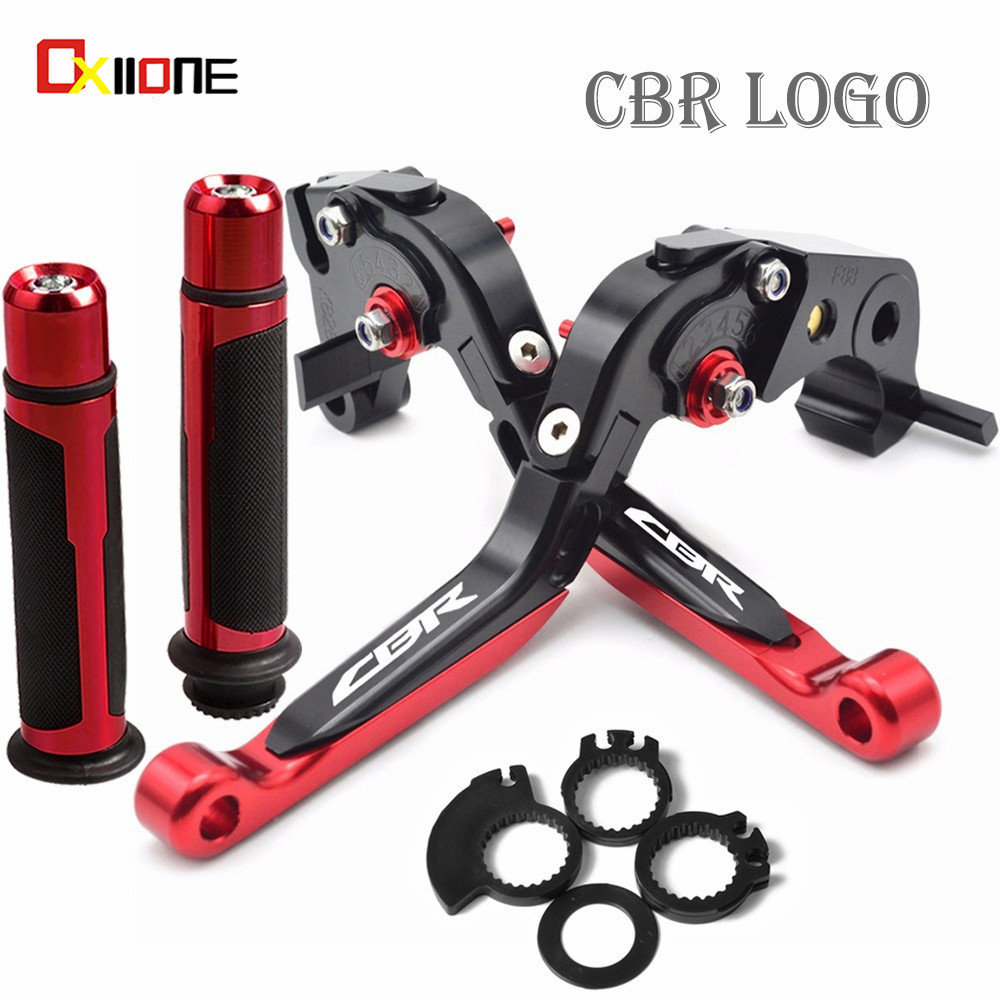 Motorcycle Folding Brake Clutch Levers Handlebar handle grips FOR HONDA CBR1000RR/FIREBLADE/SP <font><b>CBR</b></font> <font><b>1000</b></font> <font><b>RR</b></font> 2008-2018 <font><b>2017</b></font> 2016 image