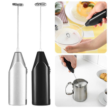 1pc Milk Drink Coffee Whisk Mixer Electric Egg Beater Frother Foamer Mini Handle Stirrer Practical Kitchen Cooking Tool Gadget mini ceramic handle egg beater stirrer hand mixer whisk kitchen accessories