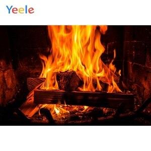 Image 3 - Yeele камин гостиная огненные обои жизненные фотографии фоны персонализированные фотографические фоны для фотостудии