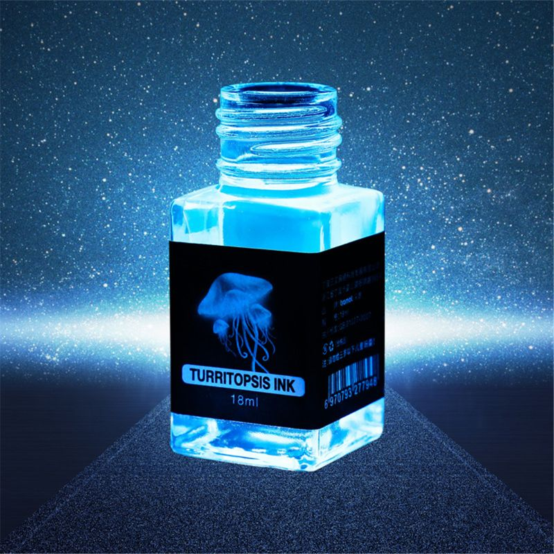 ชุดหมึกล่องหน หมึกเรืองแสง ปากกาล่องหน หมึกที่มองไม่เห็น หมึก Black Light ไม่มีคาร์บอน