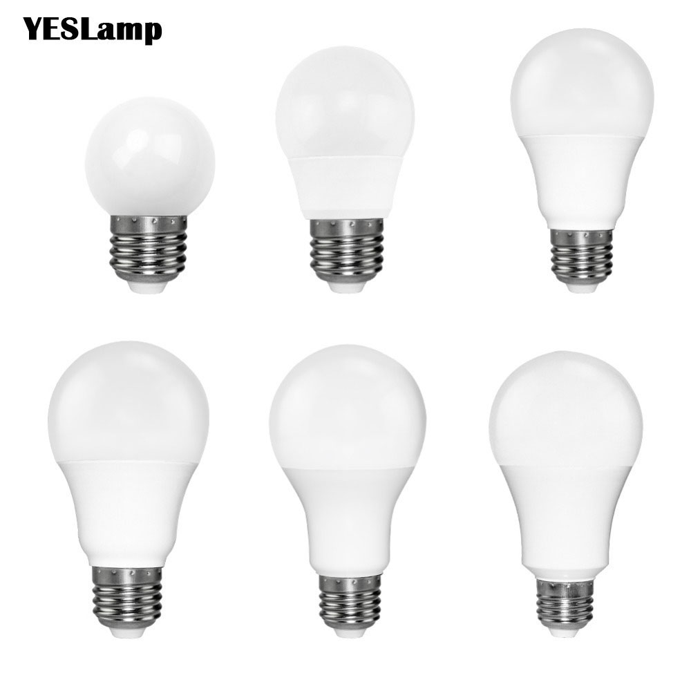 Led Bulb E27 E14 SMD 2835 3W 5W 9W Bombillas Lamp Cfl Ampoule 220V Spotlight Light Lampada Diode Home Decor Energy Saving