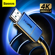 Baseus HDMI Cable 4K to HDMI 2.0 Video Cable For TV Monitor Digital Splitter PS4 Swith Box Projector Displayport HDMI Wire Cord