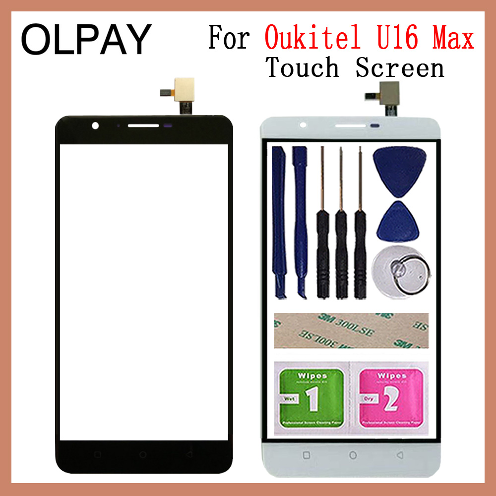 Mobile Phone Touch Panel Front Glass For Oukitel U16 Max 6.0