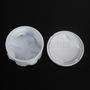 Image 3 - סיטונאי ABS פלסטיק IP65 עמיד למים צומת תיבת DIY חיצוני חשמל חיבור תיבת כבל סניף תיבת 200x100x70mm