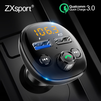 FM Transmitter Car MP3 Player Bluetooth Quick Charge 3.0 QC For Volvo XC60 XC90 S60 V70 S80 S40 V40 V50 XC70 V60 C30 Accessories image