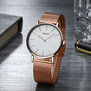 Image 4 - Women Watches Top Brand Luxury Japan Quartz Movement Stainless Steel Rose Gold Dial Waterproof Wristwatches relogio feminino