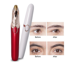 Lipstick eyebrow trimmer automatic shaving eyebrow-shaving eyebrow-shaving knife Women beginners electric eyebrow trimmer trimmi