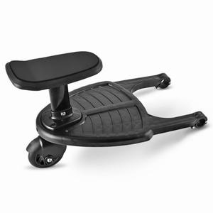 Standing-Plate Stroller-Pedal-Adapter with Seat Scooter Auxiliary-Trailer Hitchhiker
