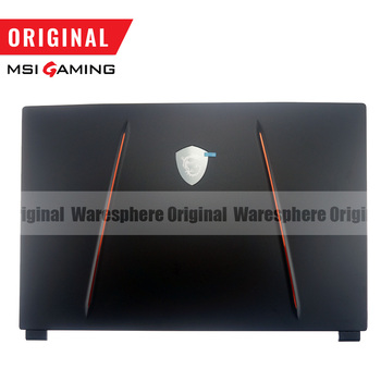 New for MSI GP65 GE65 LCD Back Cover Rear Lid Case 3076U1A212HG01 Black