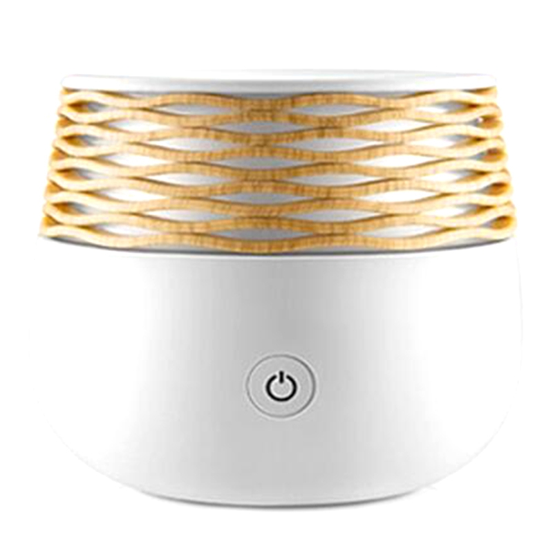 Top Deals Electric Aromatherapy Ultrasonic Humidifier Essential Oil Aroma Diffuser Led Light Mist Maker Fogger Mini Usb Air Humi