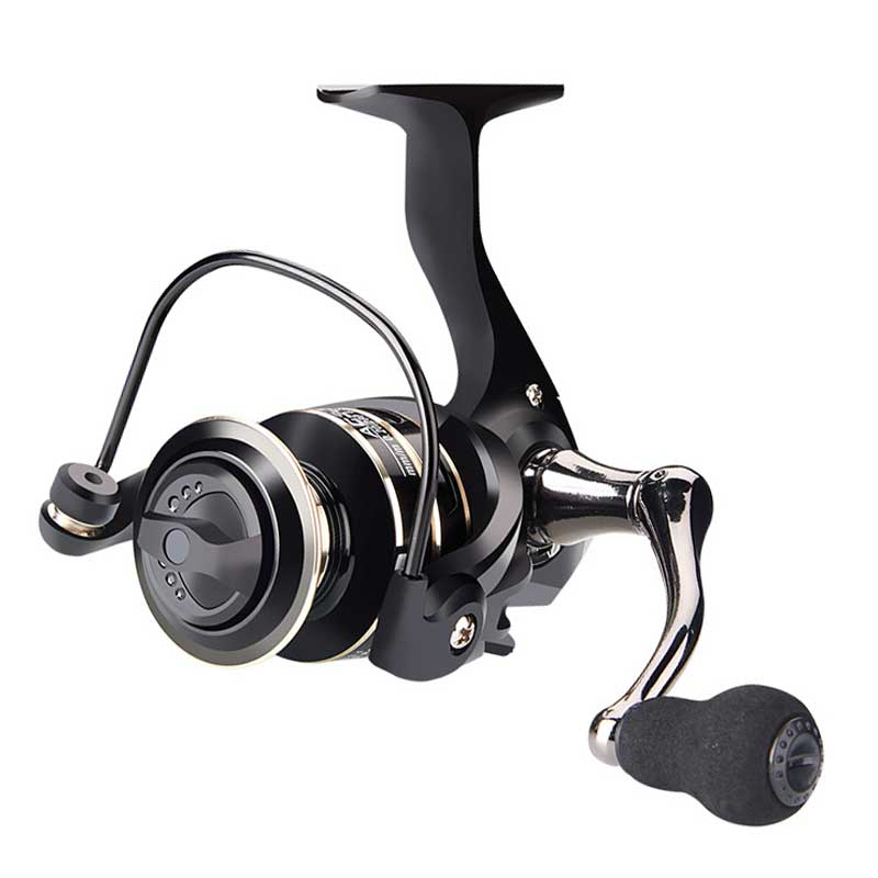 BE Fishing Reel Aluminum Spool CNC Handle Carbon Fiber Body Spinning Reel Saltwater/Freshwater