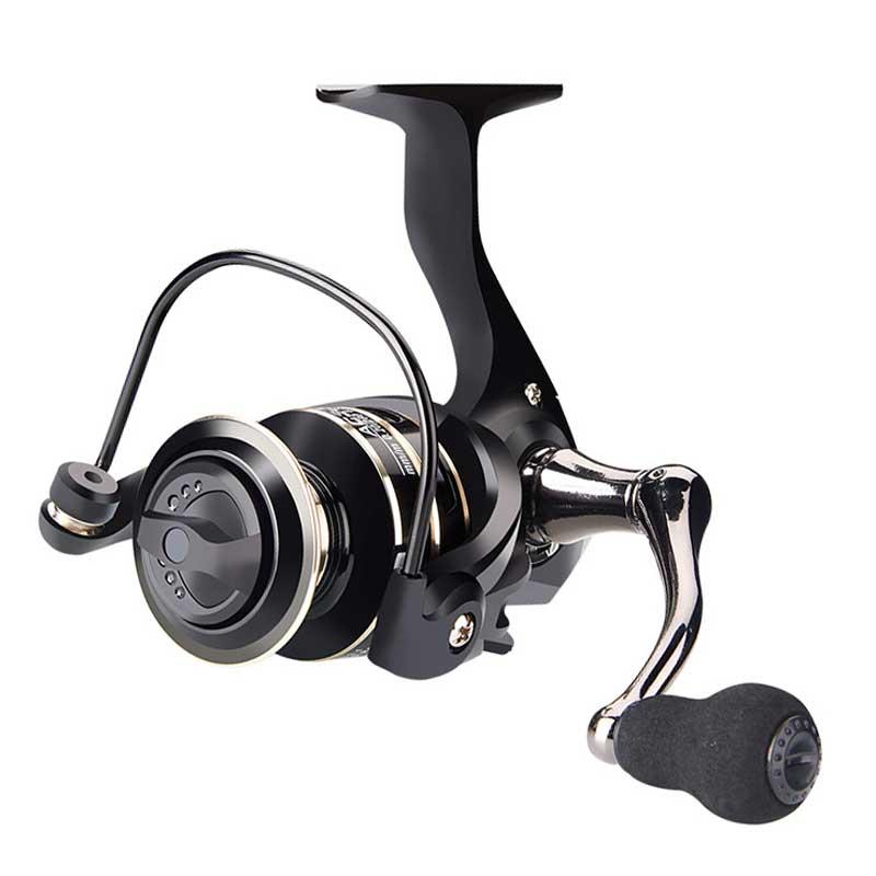 BE Fishing Reel Aluminum Spool CNC Handle Carbon Fiber Body Spinning Reel Saltwater/Freshwater