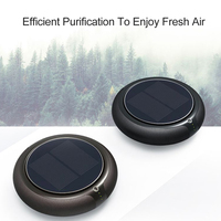 Universal Solar Car Purifier Formaldehyde Haze Removal Anion Automotive Intelligent Air Purifier Car Styling