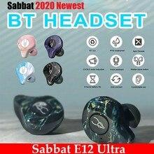 Sabbat E12 Ultra Bluetooth 5.0 TWS Wireless earphone Charging Box mini Portable Invisible earphones Waterproof Stereo TWS PK X12