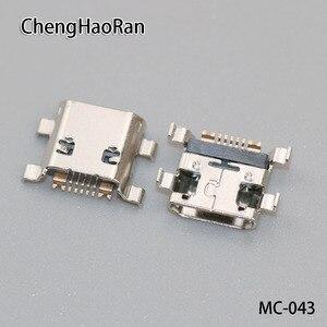 Image 1 - 100 pcs/lot Micro USB jack connecteur prise de charge port pour Samsung Galaxy Ace 2 S3 mini I8160 I8190 S7562 S7562i S7568 etc
