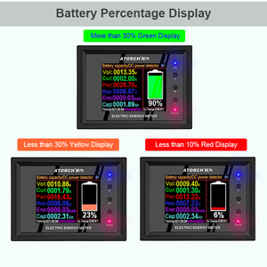 Image 3 - DT24 HD IPS Bluetooth digital display DC Power APP Voltmeter Amperemeter Batterie Kapazität Tester Kraftstoff Gauge spannung detektor Meter