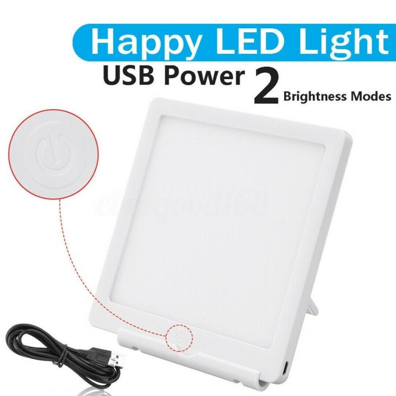 2 Mode 5V Usb Phototherapy Sad Lamp Bionic Solar Light Two-speed Dimming Therapy Light Depression Winter Anti-fatigue Dropship