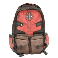 New Deadpool Backpack Marvel Bag Deadpool Death Waiter Batman Series Backpack Student Bag