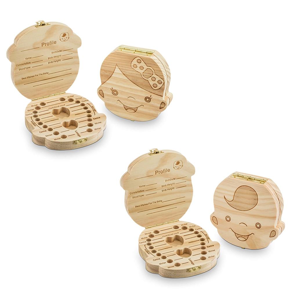 CYSINCOS Baby Boy Girl Souvenir Collection Gift Box Wooden Carving Baby Newborn Hair Storage Box Infant Fetal Hair Storage Tools