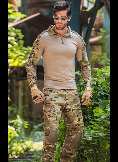 Free Shipping,Black Brand Quality Army Frog Suit,tactical Military Uniforme Multicam Men Sets,acu,cp,mandrake Combat