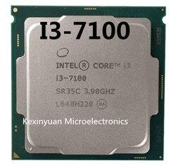 إنتل كور i3 7100 سلسلة المعالج I3 7100 I3-7100 وحدة المعالجة المركزية LGA 1151-لاند FC-LGA 14 نانومتر ثنائي النواة i3-7100