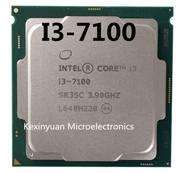 Intel Core I3 7100 Series Processor I3 7100 I3-7100 CPU LGA 1151-land FC-LGA 14 Nanometers Dual-Core I3-7100