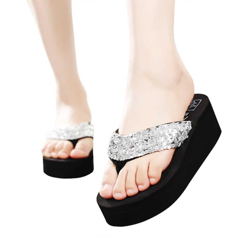 2020 nowych kobiet japonki stałe slajdy kobiety sandały