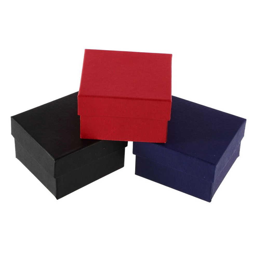 Подарки ко дню Валентина новогодние подарки картонная коробка чехол для Рождественский Браслет Bijoux кольца серьги наручные часы коробка ювелирных изделий новый