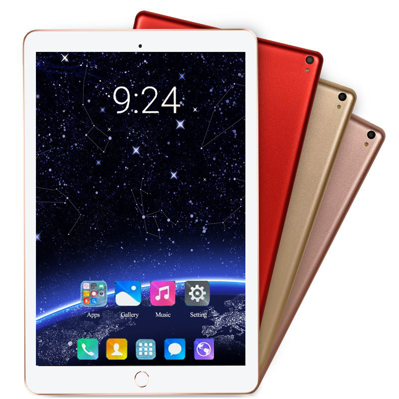5MP Camera Android 8.0 10.1 Inch 4G LTE Phone Tablet PC 10 Core RAM 6GB ROM 64GB 128GB 1920*1200 IPS Dual SIM Card Tablets Pcs