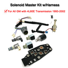 7 Pcs4L60E Solenoid Master With Harness Transmission Solenoid Kit  For GM 1993-2002 PWM (99139) 1993 2002