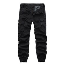 KANCOOLD Pants Mid Polyester Men's Fashion New Style Leisure Solid Colour Large Size Overall Comfortable Pant Nov4