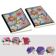 Zooya 5D Diy Алмаз 60 страниц живопись тетрадь особой формы Алмазная вышивка крестом A5 блокнот дневник Книга подарок Jq443
